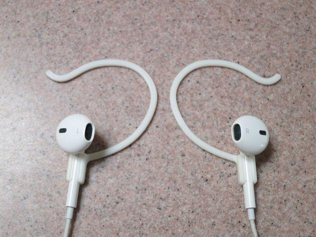 苹果耳机适配器 3D打印模型渲染图