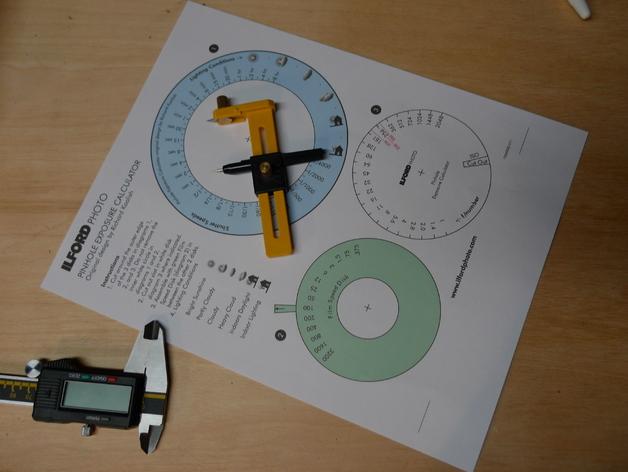纸张针孔计算器
