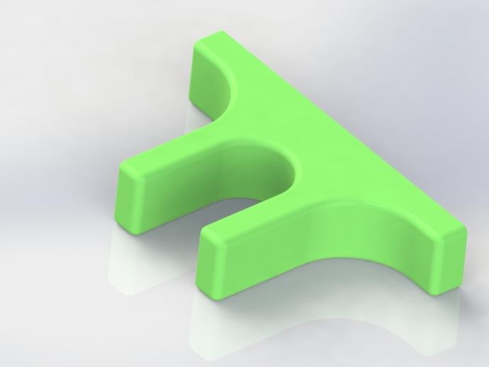 MacBook 支架 3D打印模型渲染图