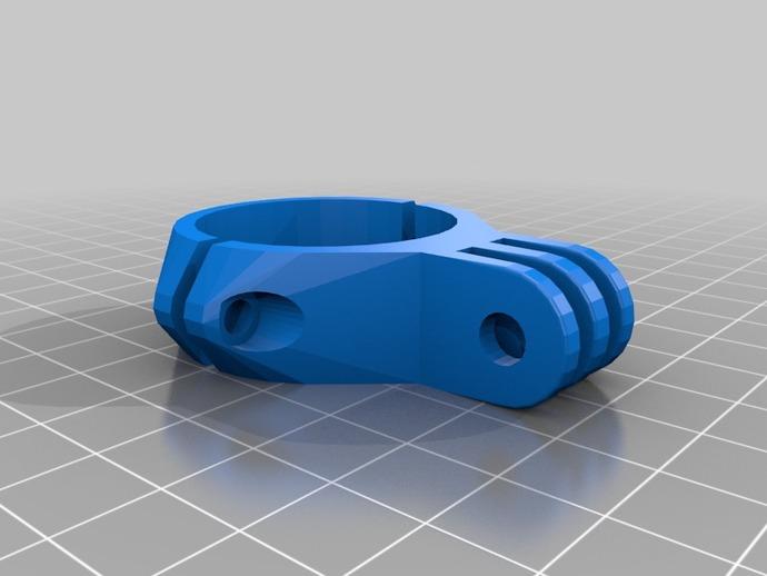 配件夹子 3D打印模型渲染图