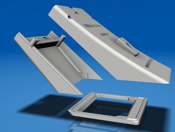 移动光谱4.0 3D打印模型渲染图
