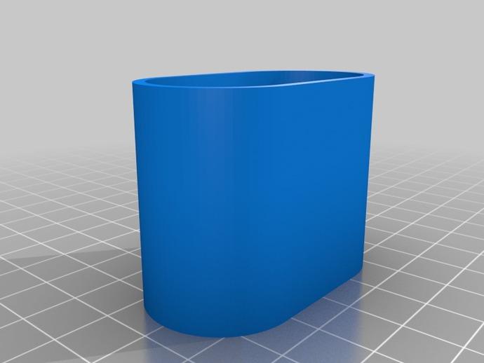 镜头保护盖 3D打印模型渲染图