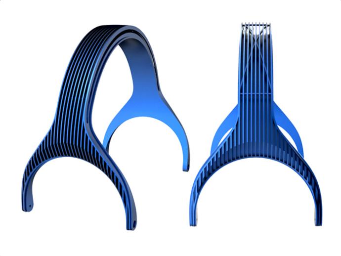 DT-770 替代耳机 3D打印模型渲染图
