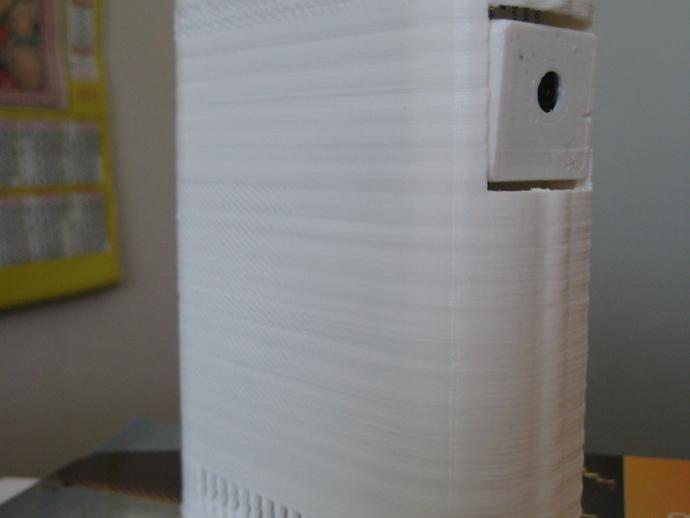 RPi保护壳 3D打印模型渲染图
