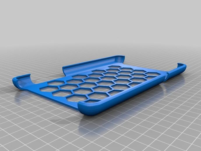 Nexus 7手机壳 3D打印模型渲染图