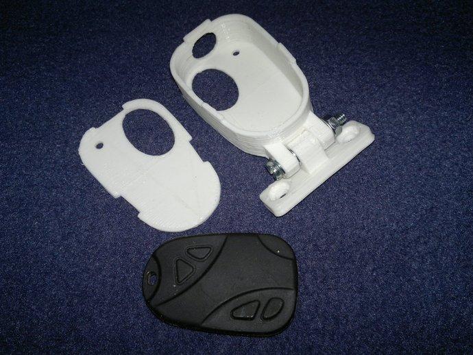 808 Keychain 相机壳子 3D打印模型渲染图