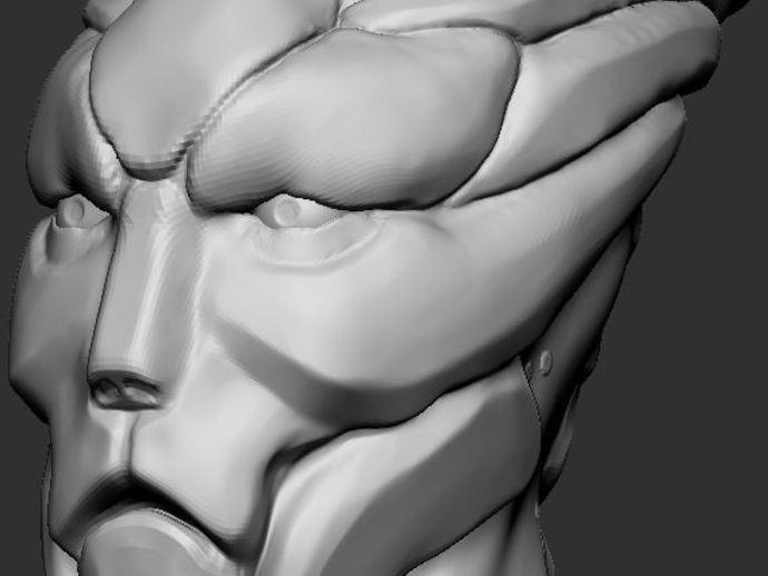 Mass Effect Turian摆件