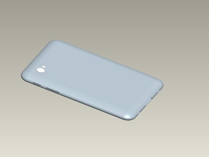 Samsung Galaxy Tab 7 保护壳 3D打印模型渲染图