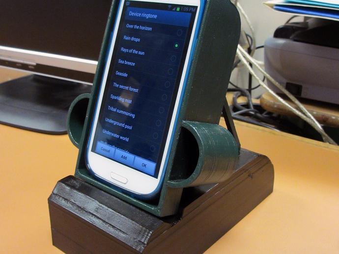 S3手机座 3D打印模型渲染图