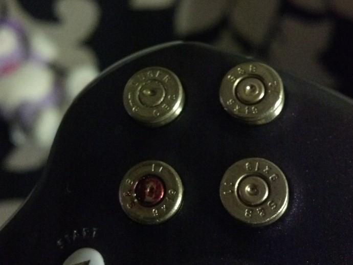 Xbox 360 9mm子弹盒 3D打印模型渲染图