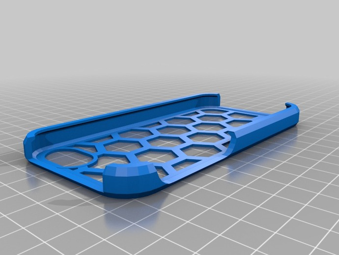 Bobbys 5手机壳 3D打印模型渲染图