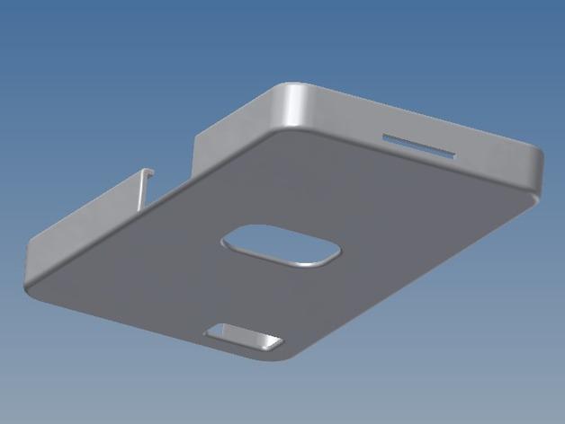 Basic Blackberry Z10 手机壳 3D打印模型渲染图