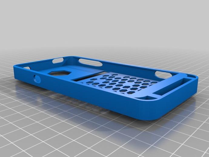 HTC EVO 4G手机壳 3D打印模型渲染图