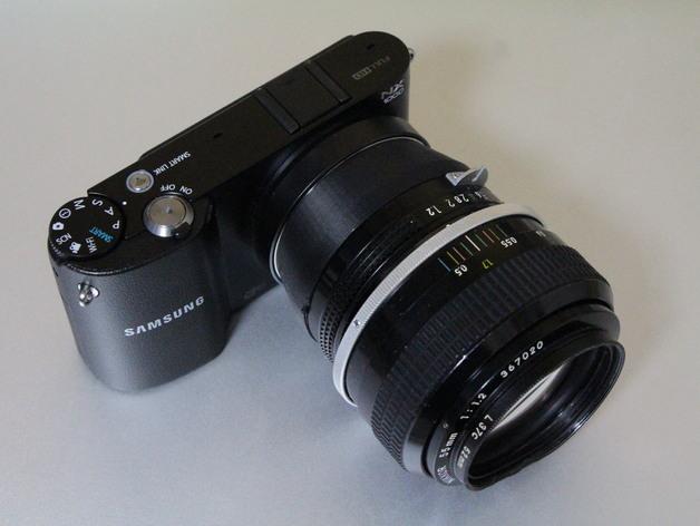 三星 尼康相机适配器