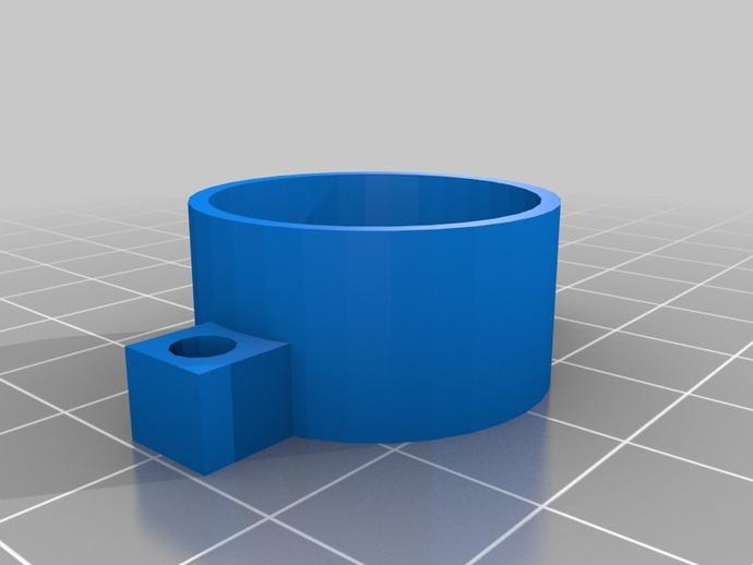 Go Pro Hero 3保护壳 3D打印模型渲染图