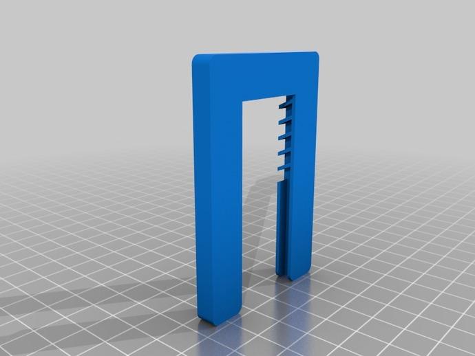 通用支架 3D打印模型渲染图