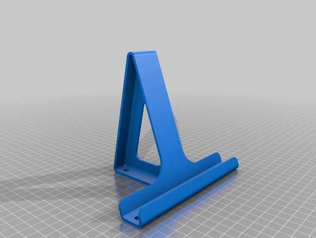 平板支架 3D打印模型渲染图