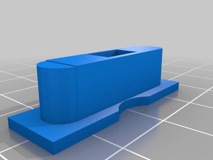 iPhone5 手机座 3D打印模型渲染图