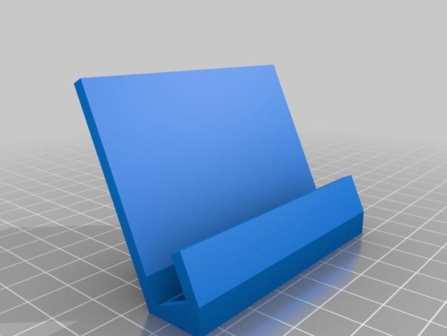 Samsung Galaxy SII 手机座 3D打印模型渲染图
