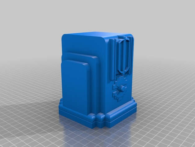 Sierra Madre Radio摆件 3D打印模型渲染图