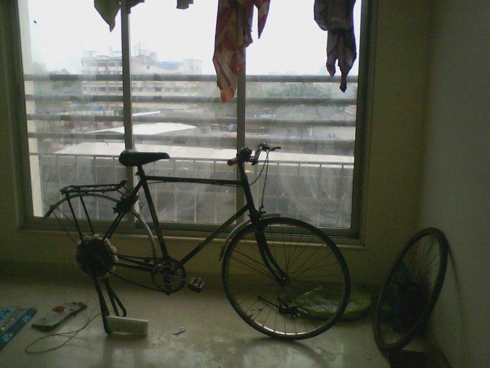 自行车发电器