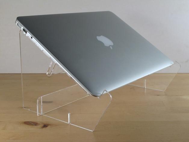 Macbook Air支架 3D打印模型渲染图