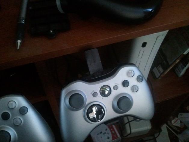 Xbox 360 控制器 3D打印模型渲染图