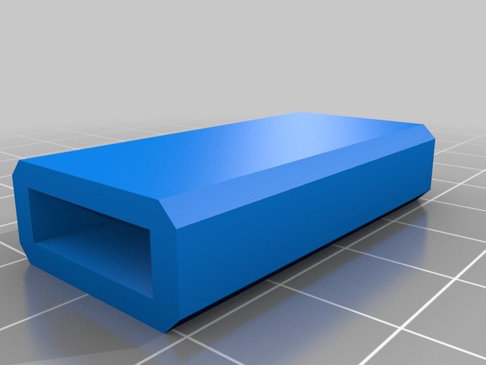 USB保护壳 3D打印模型渲染图