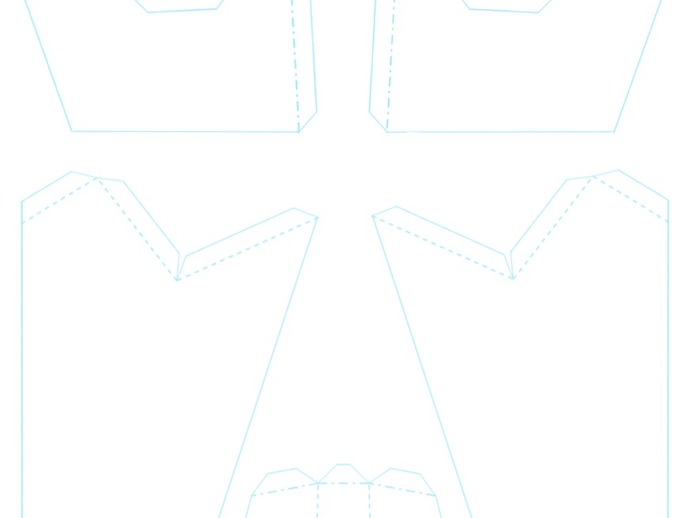 低多边形面具