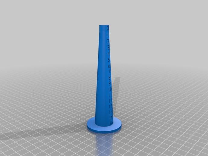 分级环塔 3D打印模型渲染图