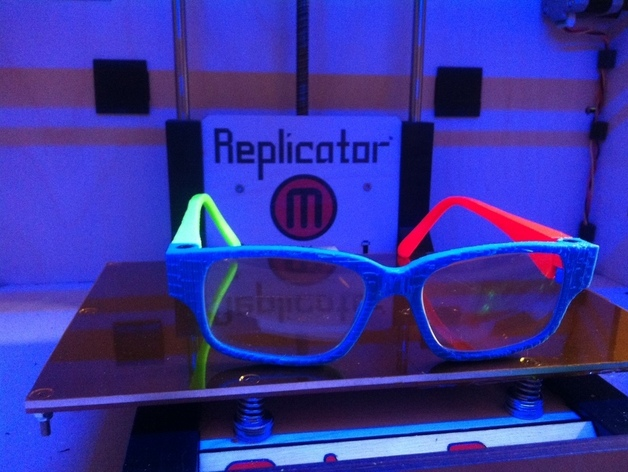 眼镜零部件v1 3D打印模型渲染图