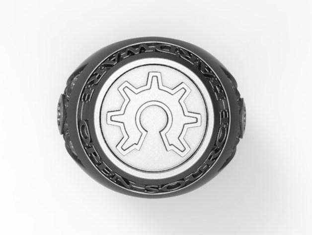 个性化开源戒指