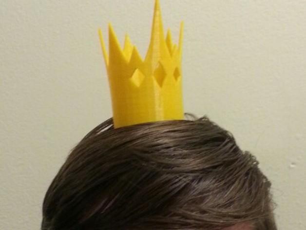 《童话高中:青蛙王子的儿子》:迷你王冠