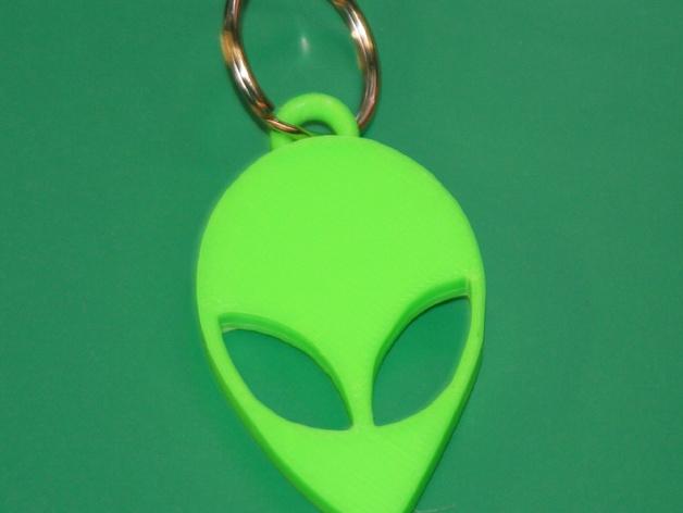 火星人钥匙扣