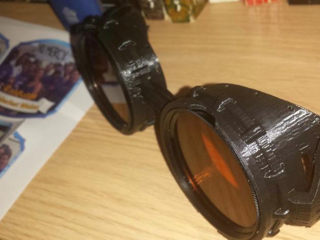 朋克风齿轮护目镜