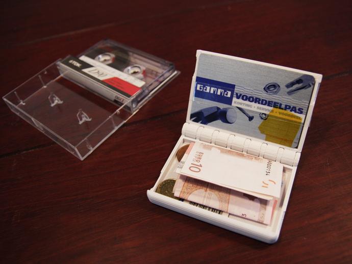 盒式磁带型钱包