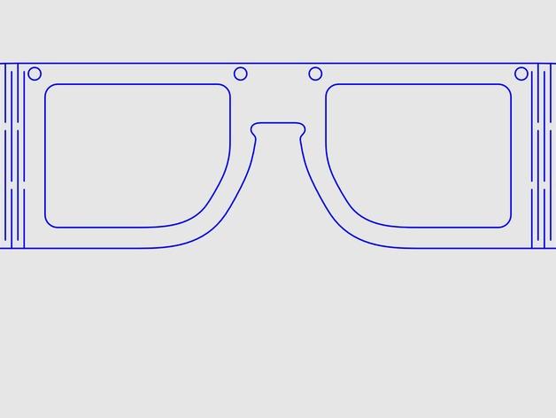 木质眼镜框