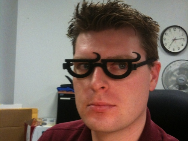 个性化眼镜框