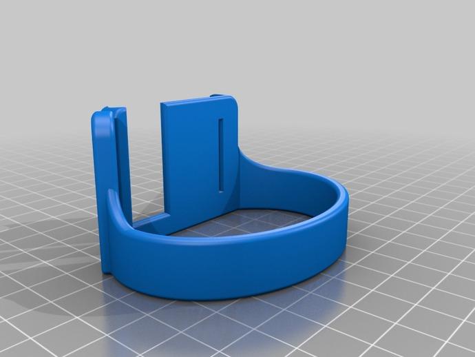IpodNano手表腕带 3D打印模型渲染图