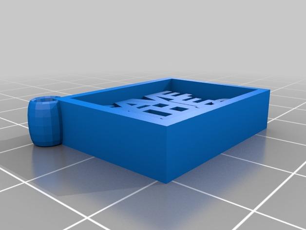 Save the Tatas吊坠 3D打印模型渲染图