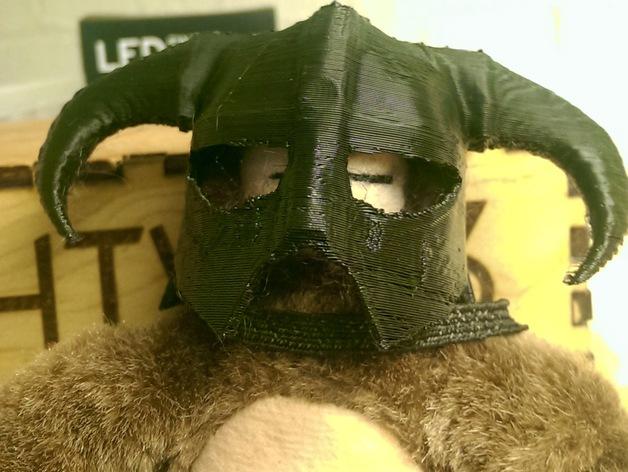 龙族头盔 3D打印模型渲染图