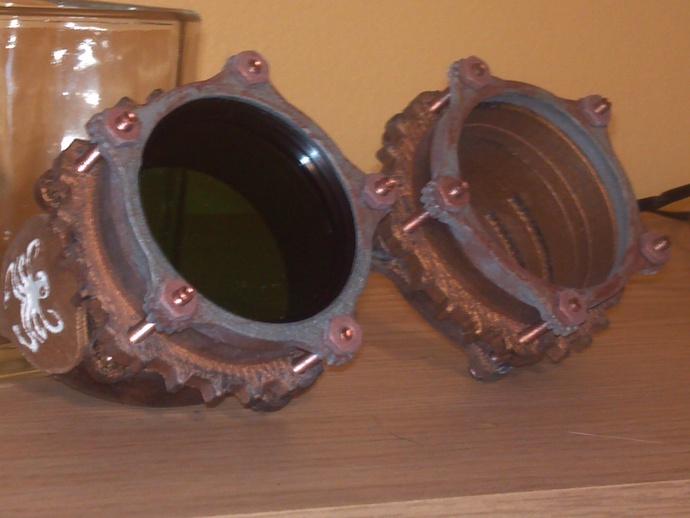 蒸汽朋克护目镜