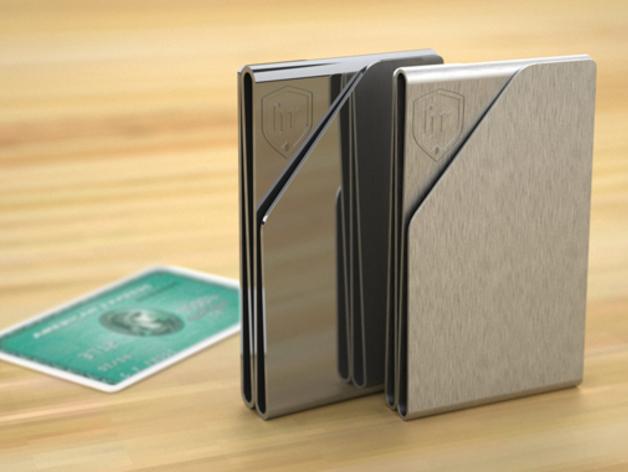 薄款钱夹 3D打印模型渲染图