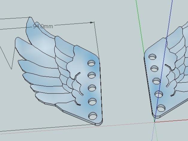 翅膀 饰品