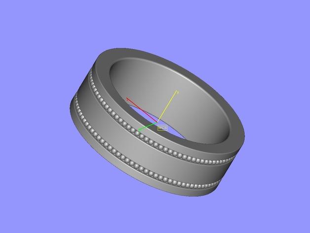 戒指 3D打印模型渲染图
