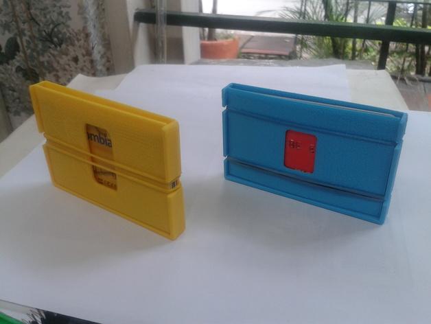 钱包 3D打印模型渲染图