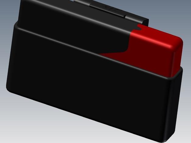 信用卡卡包 3D打印模型渲染图