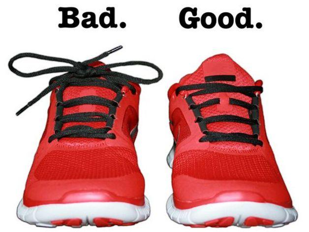 鞋带固定器