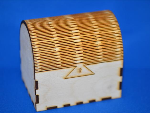 首饰盒 3D打印模型渲染图