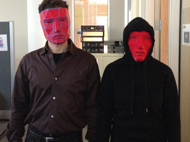低面数面具